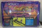 Vtg 1968 Strombecker Monaco Road Racing Set 9925 Slot Car
