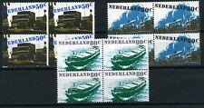 Nederland 1980 Verkeer en vervoer 1204-1206 blokken van 4