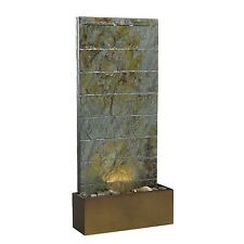 Indoor Outdoor Resin Natural Stone Fountain Wall with Reflecting Light