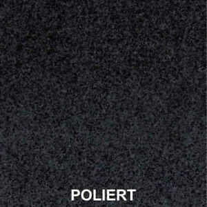 Tischplatte Naturstein Granit Dunkel poliert 160x90x3cm