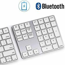 Bluetooth Number Pad Wireless Rechargeable Numeric Keypad Keyboard