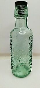 """RARE/VINTAGE UNDERWOOD BOTTLE MARYPORT 7.9"""" tall approx."""