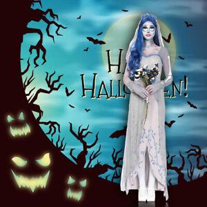 Corpse Wedding Dress Cosplay Bride Costume Halloween For Women Gift