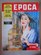 EPOCA n°126 1953 La mia infanzia con Benito Mussolini - Ferrovie Italiane [G771]