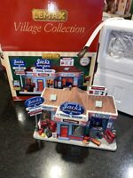 Lemax CRAFTSMAN ~ Jack's Auto Parts & Tool Shop Exclusive 🎄CHRISTMAS VILLAGE