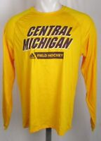 Central Michigan Chippewas NCAA Mens S M L XL Adidas Climalite L/S T-shirt