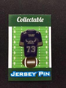 Minnesota Vikings Ron Yary jersey lapel pin-#1 Retro Collectible-Skol Cool
