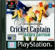 International Cricket Captain 2001: Ashes Edition Sony Playstation 1 PS1 3+ Game