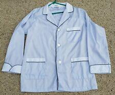 Christian Dior Monsier Vintage Light Pajama Top Bed Jacket Grand Vino Mens XL