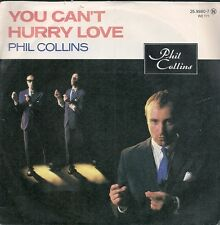 """45 TOURS / 7"""" SINGLE--PHIL COLLINS--YOU CAN'T HURRY LOVE--1982"""