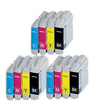 12 Non-OEM Fit For Brother MFC 235c MFC 260c Ink Cartridges