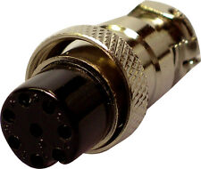 8 pines Amateur Ham Radio Micrófono Plug