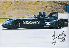 Marino FRANCHITTI Signed Autograph NISSAN Deltawing Le Mans 12x8 Photo AFTAL COA