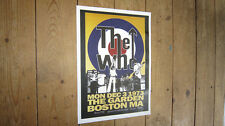The Who Boston Garden Repro Tour Poster