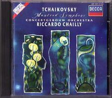 Riccardo CHAILLY: TCHAIKOVSKY Manfred Symphony DECCA CD Concertgebouw Orchestra