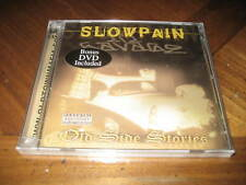 Chicano Rap CD & DVD Slow Pain Lil Savage Old Side Stories - Bigg Bandit SNIPER