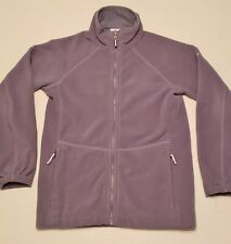 COLUMBIA Sportswear Gray Bungaboo Interchange Inner Layer Fleece Jacket, Size M