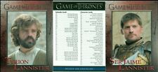 GAME OF THRONES SEASON 6 COMPLETE SET OF 100 MINT CARDS RITTENHOUSE & HBO 2017