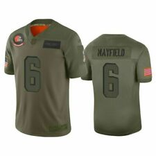 Nike Cleveland Browns Baker Mayfield Salute to Service Jersey On Field XL