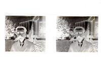 Famille Francia Foto Amateur Negativo PL51L31n3 Placca Da Lente Vintage 1909
