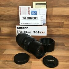 Tamron AF 70-300mm F/4-5.6 Di LD Macro LD 1:2 Lens For Canon Camera Single A17E
