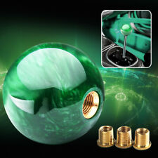 Green Marble Ball Shift Knob 54mm For Shoort Throw Gear Shifter Universal JDM