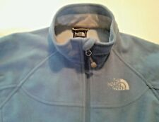 Women's The Northface Jacket Size S Small North Face fleece Blue Full Zip