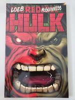 HULK: RED HULK TPB Vol 1 2009 MARVEL COMICS ED McGUINNESS! JEPH LOEB! UNREAD!