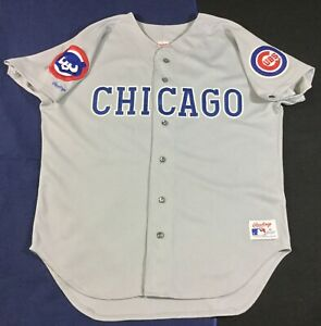Vintage Chicago Cubs Baseball Rawlings Jersey Size48