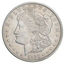 Choice AU/UNC 1921 Morgan Silver Dollar - Last Year of Issue - Great Luster *715