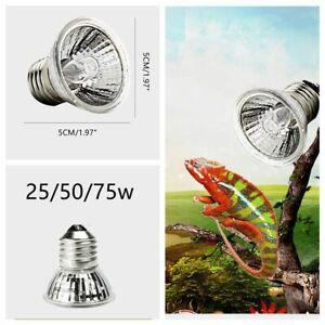 3Pcs UVA+UVB Heat Emitter Lamp Bulb for Pet Reptile Tortoise Light Heater