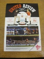 17/04/1982 Manchester United v Tottenham Hotspur  . Any faults with this item sh