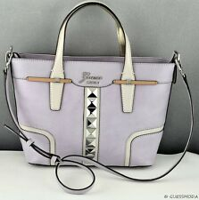New Stylish 100% Original Handbag GUESS Gladis Totes Bag Lilac Multi Ladies