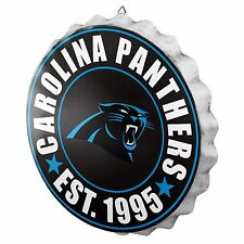 Carolina Panthers Bottle Cap Sign - Est 1995 - Room Bar Decor NEW 13.5""