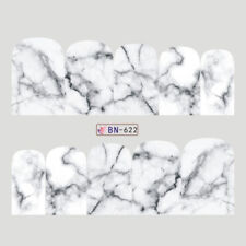 MARBLE Nail Art Stickers Water Transfer DIY Decal (BN-622) - 1 sheet