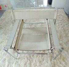 Marcel Breuer Wassily Chair, Leder beige, Original von Knoll International