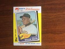 WILLIE MAYS: Topps - Kmart 20th Anniversary MVP Series - 1962-1982
