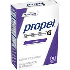 PROPEL ZERO GRAPE POWDER SINGLE PACKETS (10 packets x 3 box) ELECTROLYTES