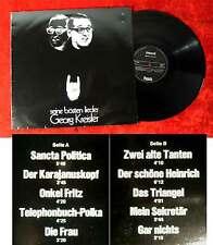 LP Georg Kreisler: Seine bösten Lieder (Phonola LP 7009)