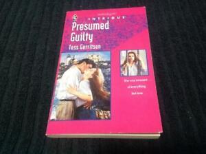 Presumed Guilty By Tess Gerritsen Harlequin Intrigue Book