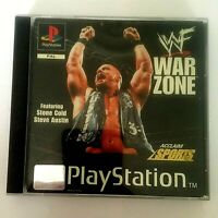 WF War Zone PlayStation 1 (PS1) (3+) Acclaim Sports Fast Dispatch!