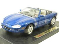Maisto Diecast Special Edition 31836 Jaguar XK8 1996 Blue 1 18 Scale Boxed