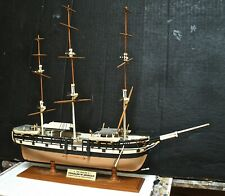 Vintage Ship Model Of The Whaler C. W. Morgan
