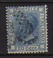 ITALY 1874 LEVANTE surcharged ESTERO 20c Used  (Sa.5)