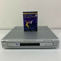 Sony DVP-NC80V CD/DVD Player 5-Disc Changer Silver, No Remote, Used, Tested