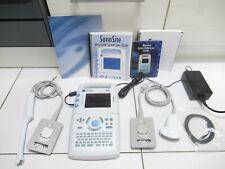 Sonosite 180 Plus Portable Ultrasound C605 2ict7 4 Mhz Transducernewprobes