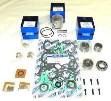 "WSM Mercury 50 / 60 Hp 2.955"" Bore 3 Cylinder Power Head Rebuild Kit 100-07-10"
