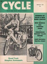 1956 February Cycle - Vintage Motorcycle Magazine