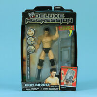 Cody Rhodes - WWE Jakks Deluxe Aggression Series 13 - MOC Vintage Figure AEW