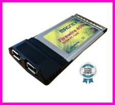 Magnex Pcmcia Card Firewire Ieee 1394 Card Bus Pc 32 Bit 2 Ports for Laptop